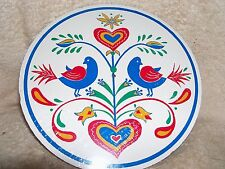 """CONESTOGA CRAFTS Hex Sign, 8"""" Doves of Peace"""