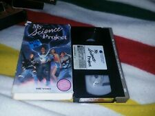 My Science Project VHS Sci-Fi