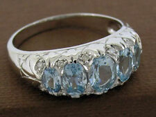 Aquamarine White Gold Fine Jewellery