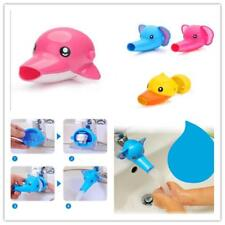 Baby Kids Duck Dolphin Animal Washing Hand Water Tap Faucet Extender RE