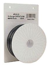 Atlas 6940 100' Layout Wire 16 Gauge Black, ATO6940