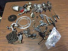 Big lot vintage French road bike parts #1 Soubitez Huret Simplex Normandy