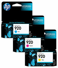 GENUINE NEW HP 920 (CH634ANCH635ANCH636AN) Ink Cartridge 3-Pack