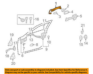 69210-53040-E1 Toyota Handle assy, front door, outside rh 6921053040E1, New Genu