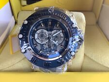 Invicta Subaqua Noma VII 52MM Swiss Quartz Chrono Meteorite Dial Bracelet Watch