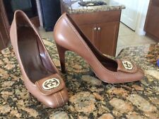 NWOB GUCCI heels Shoes Brown Size 5 Were $789