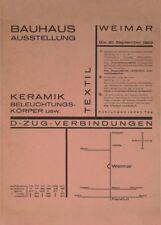 Bauhaus Ausstellung, Walter Dexel, 1923, Vintage Bauhaus Poster