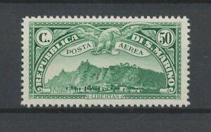 [P638] San Marino 1931 airmail good stamp very fine MNH value $60