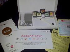 Nintendo DSi White Handheld System Console NTSC-J TWL-001 *Used* *In Box*