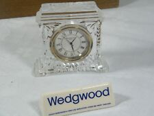 Wedgwood/Waterford Fine Cut Crystal Clock, superb clock with new Movement !!.