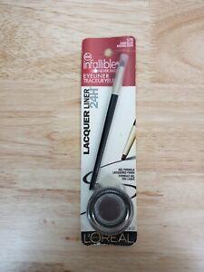 L'Oreal Infallible Eyeliner with Brush, 175 Dark Slate