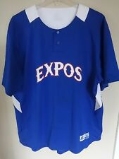 Vintage Expos # 2 Baseball Softball Req League Jersey Men XL by Russell Athletic