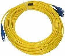 eDragon Fiber Optic Cable, SC/SC, Singlemode, Duplex, 9/125, 15 meter (49.2 foot