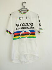 Volvo Cannondale Bike Racing Team Shirt 3/4 Zip Jersey - Unisex Adults Size XL
