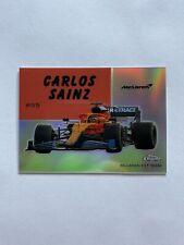 2020 Topps Chrome Formula 1 Carlos Sainz 1954 World on Wheels Card #54W-32