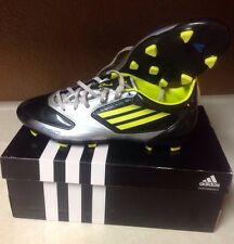 Adidas Adizero F30 TRX FG Soccer Cleats Black Silver Lab Lime Mens US 9 1/2  Wow