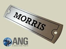 MORRIS MINOR, 1100, 1300, 1800, MINI, OXFORD,MARINA ROCKER COVER 'MORRIS' BADGE