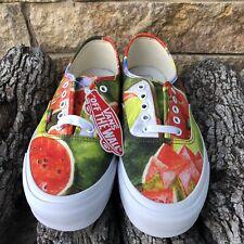 New! Vans X Frida Kahlo OG Authentic LX LIMITED  Watermelon    Men's size 12