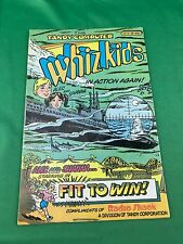 Whiz Kids Comic Book By Tandy Computer Cat. No. 68-2021