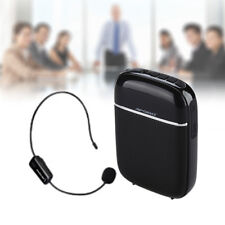 Wireless PA Voice Amplifier Booster With UHF Mireless Mic For Teaching Guide