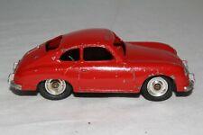 1950's Dinky #152 Porsche 356A, Red with Spun Hubs, Original