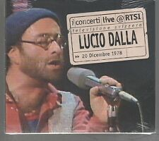 LUCIO DALLA LIVE RTSI ( RON ) CD DIGIPACK F.C.SIGILLATO!!!