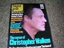 UK INT FILM QUARTERLY MAGAZINE SIGHT AND SOUND JAN 97 CHRISTOPHER WALKER