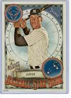 Aaron Judge 2019 Allen and Ginter Baseball Star Signs 5x7 #BSS-20 /49 Yankees