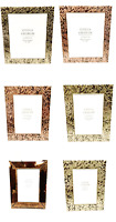 Gisela Graham Gold Copper Picture Photo Frames Home Decoration Gift - 3 sizes