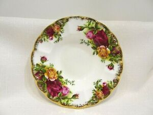 Royal Albert Old Country Roses c1962-1973 1ST England Bone China Nut Candy Dish