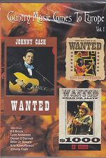 COUNTRY MUSIC COMES TO  EUROPE VOL. 1 - JOHNNY CASH - ED BRUCE - DVD