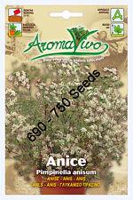 Anise Herb Seeds (690 - 750 seeds) Best Quality Very Fresh seeds. Anice