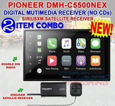 "PIONEER DMH-C5500NEX 8"" MODULAR MECHLESS DIGITAL MULTIMEDIA RECEIVER SIRIUSXM"