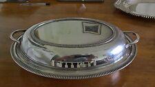VINTAGE SCOIATTOLO Brand SILVER PLATED SERVIZIO Dish & Coperchio