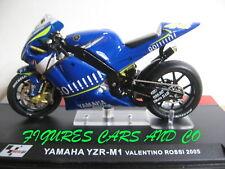 MOTO GP 1/24 SERIE 2 YAMAHA YZR-M1  VALENTINO ROSSI 2005 MOTORCYCLE MOTOBIKE