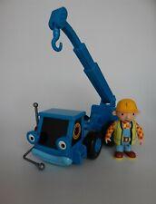 Bob the Builder Lofty the mobile crane push along vehicle and figure