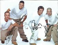 Boy Band Five Autographs Signed Authentic Colour Photo UACC AFTAL Dealer L333