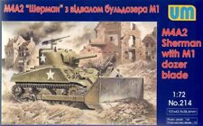 UNIMODEL 1/72 M4A2 SHERMAN CON M1 DOZER Lama #214