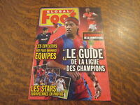 global foot le guide de la ligue des champions 2006/2007