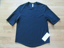 Lululemon Mens Recoupe Tee, Short Sleeve, Black, Nwt, M