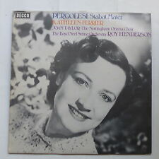 PERGOLESI Stabat Mater KATHLEEN FERRIER  ROY HENDERSON Decca MONO LXT 6907