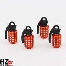 Valve Caps Auto Wheel Tire Tyre Stem Air Caps Fit for NISMO Orange Metal B239