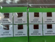 8 pieces of gambir sarawak
