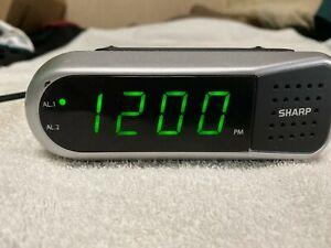 Sharp SPC100 Digital Alarm Clock - Ascending Begins Faintly and Grows