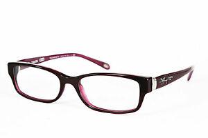 Tiffany&Co Damen Brillenfassung TF2115 8173 52mm bordeaux rot Vollrand 208 50