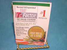 The T-Factor 2000 Fat Gram Counter by Jamie Pope and Martin Katahn Free Shipping