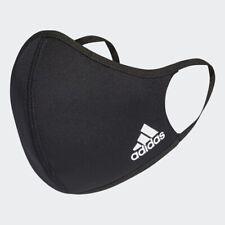 Adidas Masque Visage Housse Réutilisable Lavable Noir M/L Tout Neuf