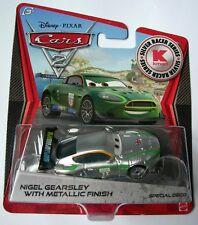 """Disney cars Métalliques frais de port combiné /""""Nigel gearsley avec flammes/"""""""