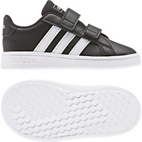 Adidas Shoes Kids Sneakers Fashion School Grand Court 70s Infants Toddler EF0117