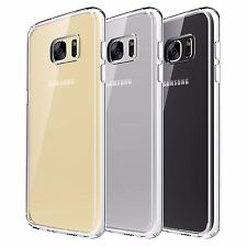 Slim Transparent Crystal Clear Hard TPU Case Cover For Samsung Galaxy S7 EDGE